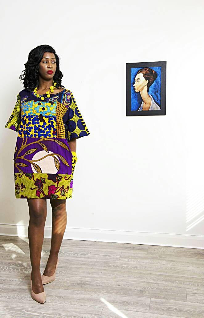 266d6395abe9 Sosome Galaxy African print dress for women Ankara dress yellow purple print  dress African Clothing African Fabric Short Dress Summer Dress African print  ...