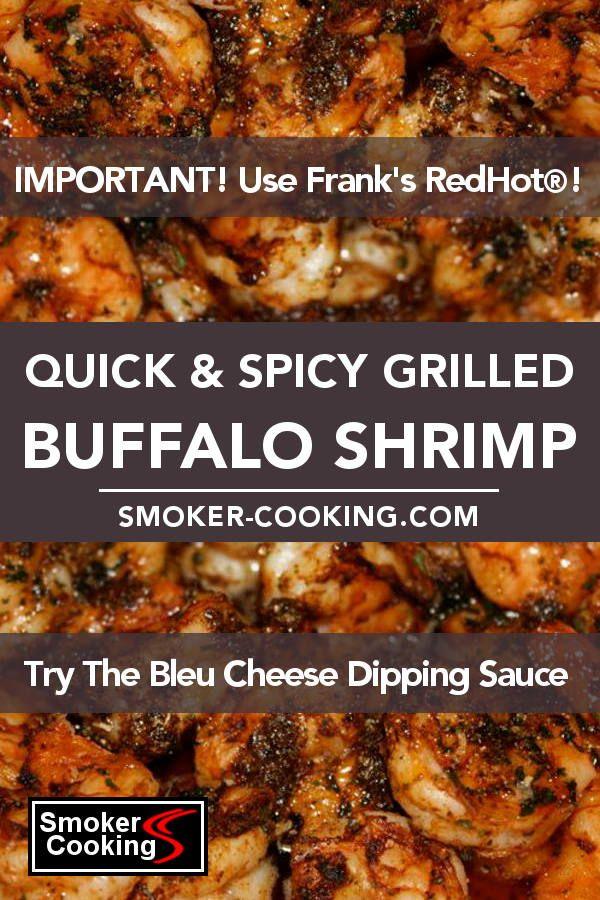 Quick & Spicy Buffalo Shrimp Recipe Makes a Fantastic Appetizer!
