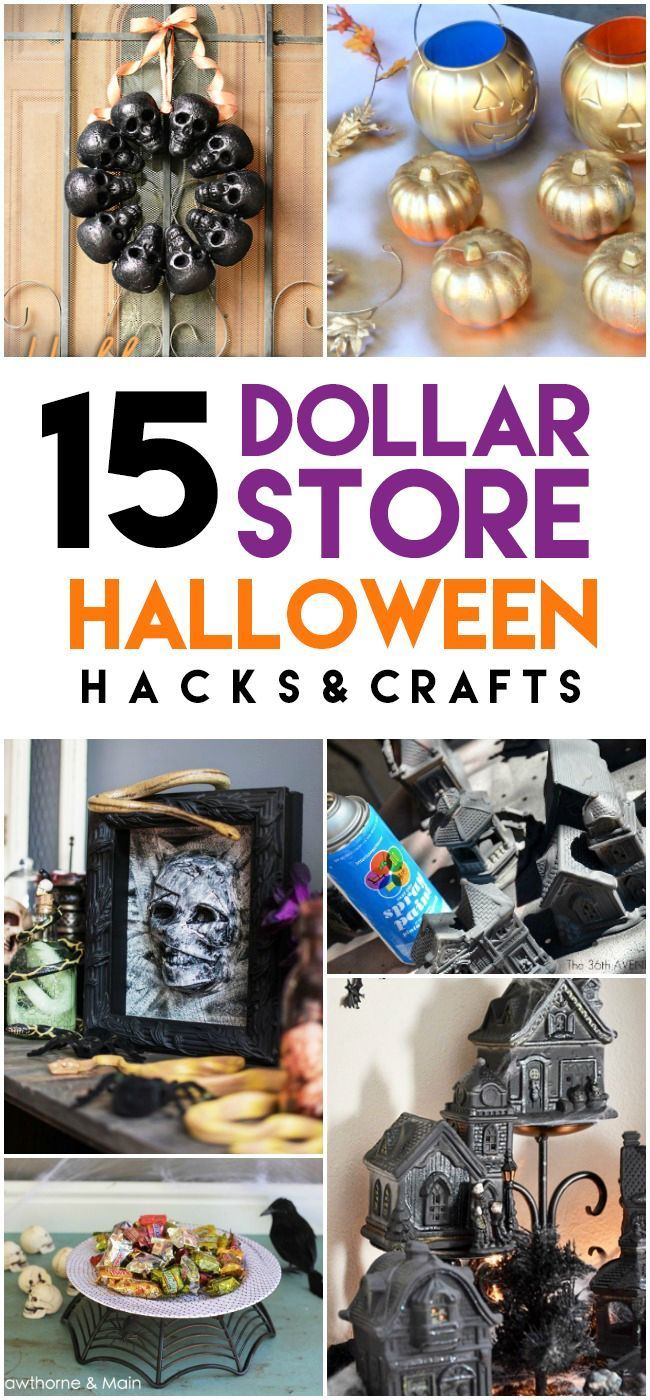 15 Epic Dollar Store Halloween Hacks Dollar store