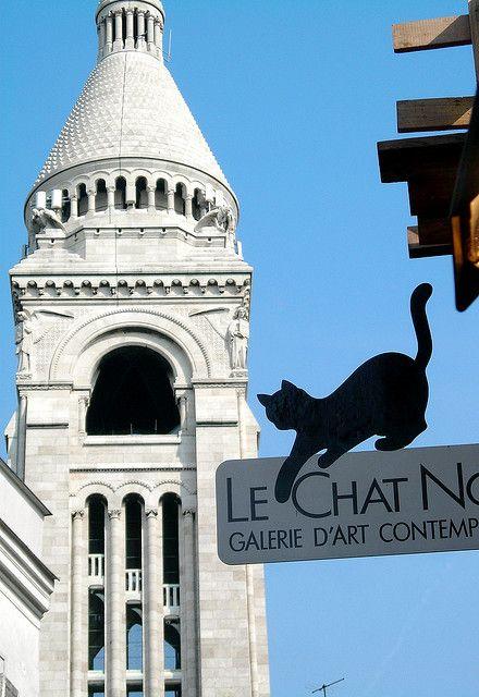 Le Chat Noir Galerie Montmartre