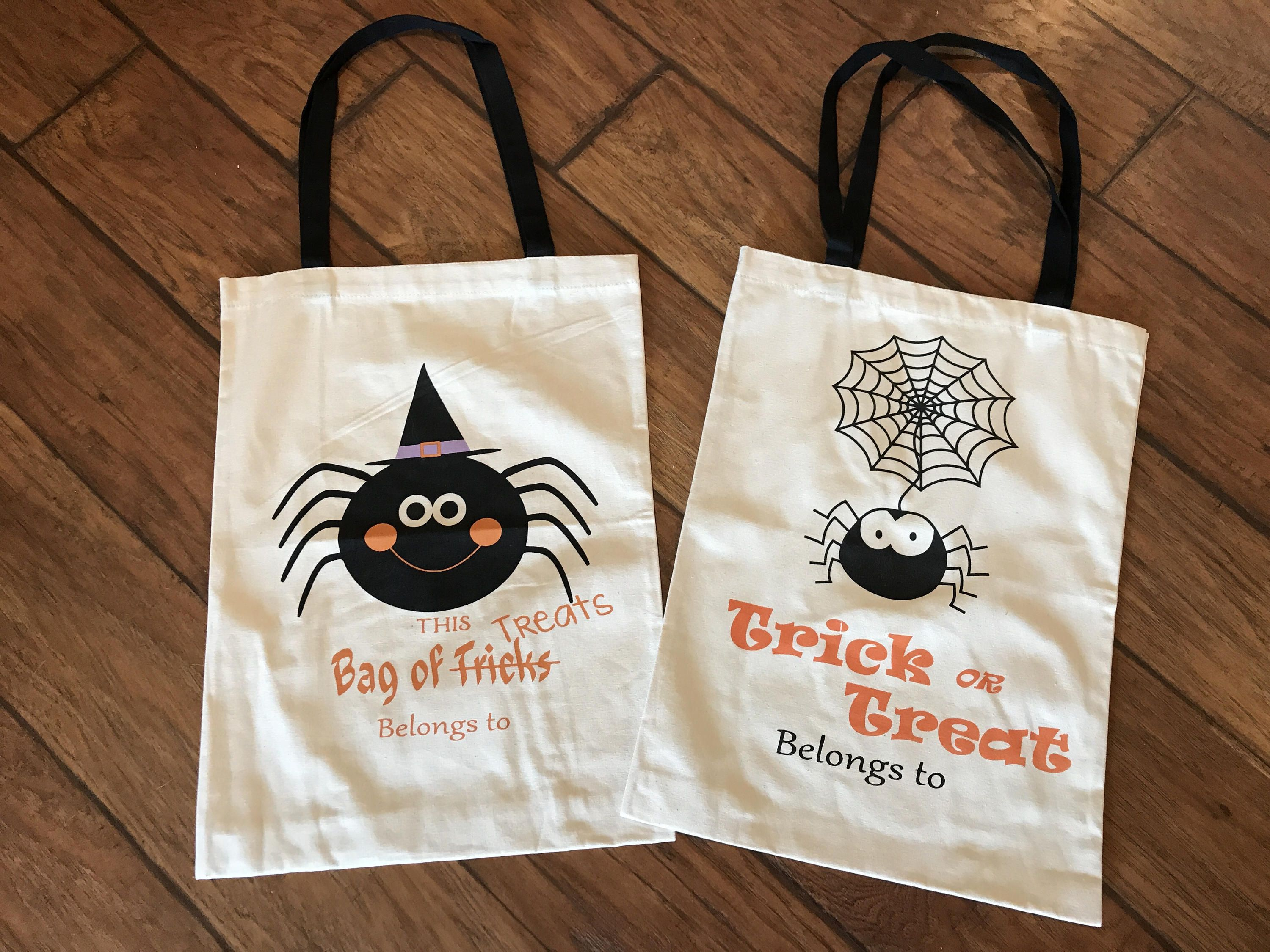 93ff92a2c4ae Halloween tote bag - Halloween sack - Personalized Halloween bag ...