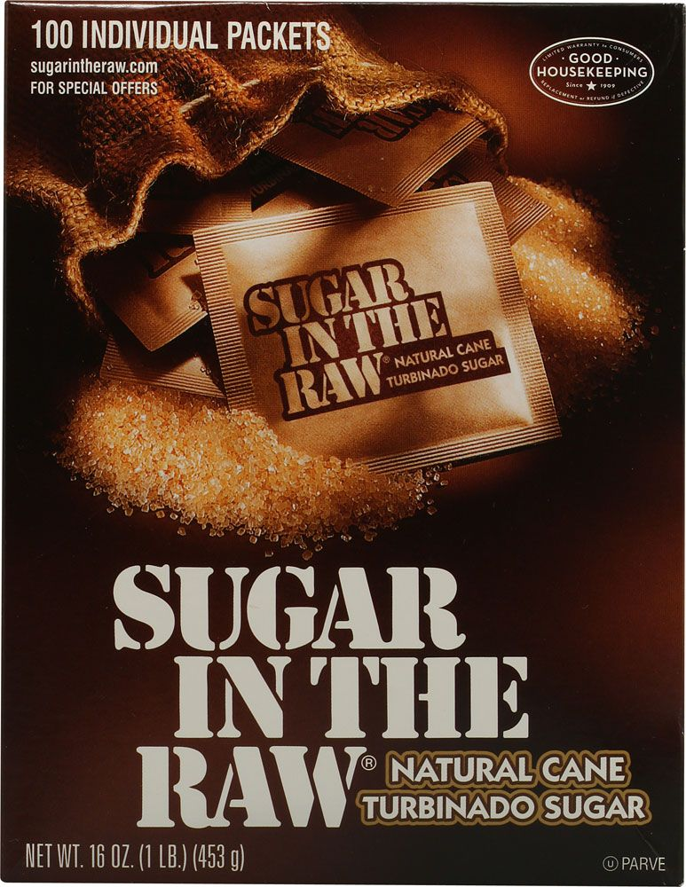 Raw pure cane sugar and pure brown cane sugar Hopefully awareness