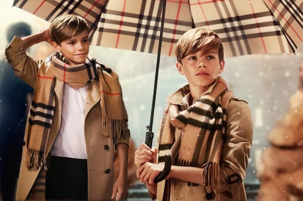 Burberry pay £45,000 fee for Romeo Beckham s appearance in Christmas ... f2847e00163