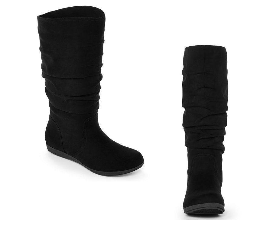 Women Fashion Boots Pull On