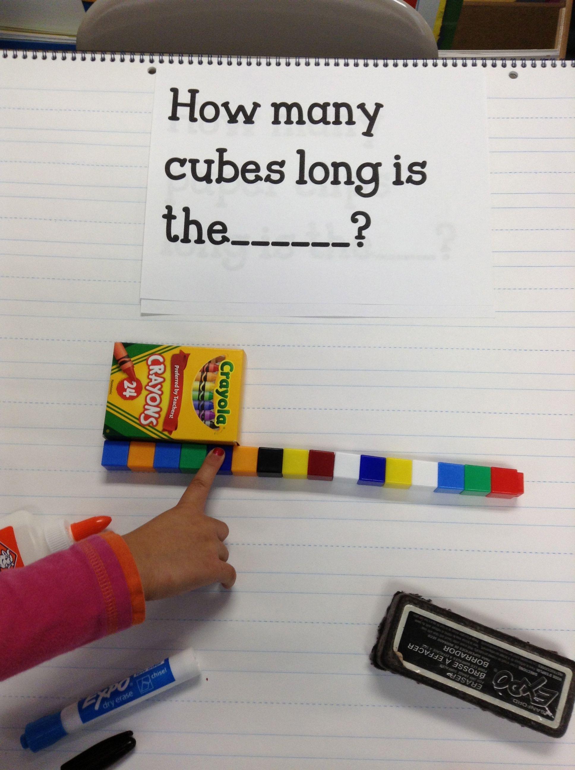 Pin On Measurement In Kindergarten