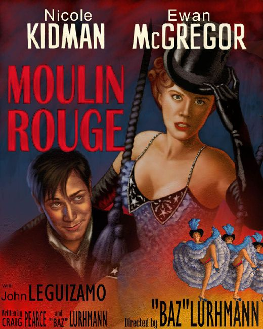 Moulin Rouge (Old Classic Poster)