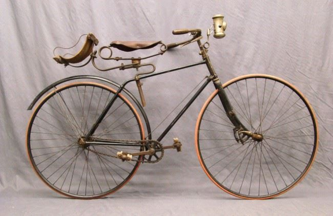 1888 Columbia Light Roadster Hard Tire Safety Split Frame Bicycle Antique Bicycles Bicycle Tires