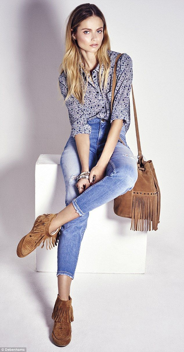 Denim Clothes Trendy Once More For Over 50's  Daily Mail Online Denim Clothes Trendy Once More For Over 50's  Daily Mail Online Woman Jeans best jeans for 40 year old woman uk