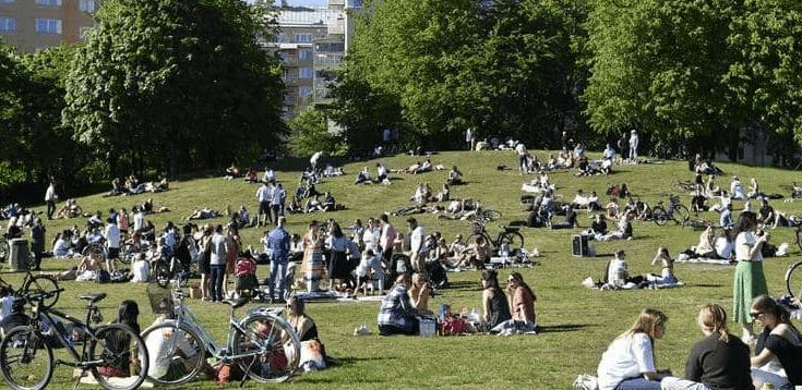 كورونا في السويد سابقة لم تحدث منذ 13 مارس Dolores Park Sweden Park