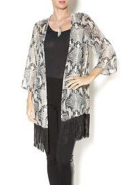 Fringed Python Kimono
