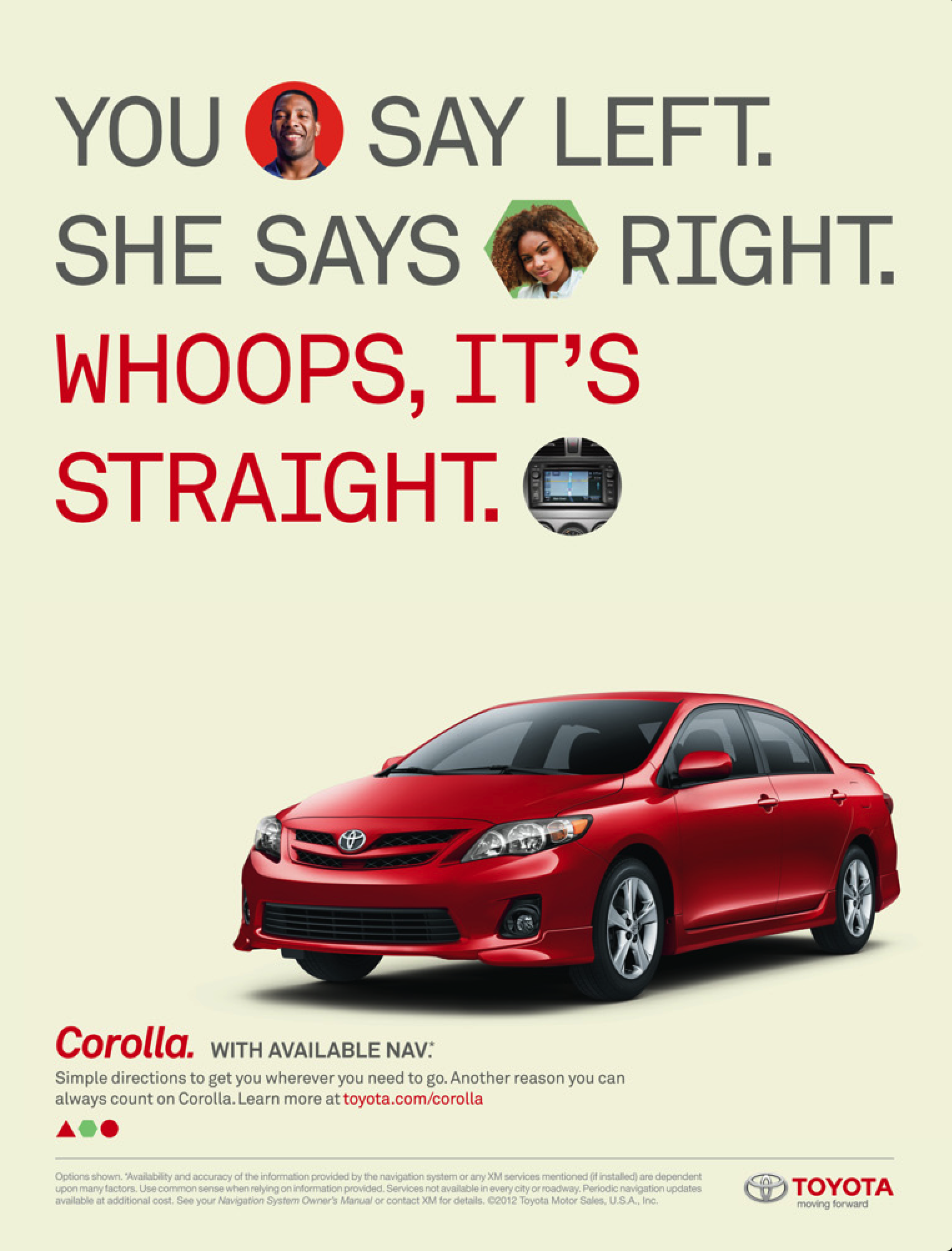 Pin by Steve Machesney on car ads 2 | Toyota corolla, Toyota