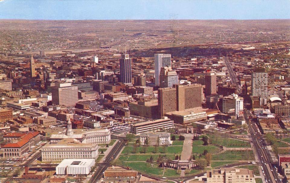 Throwback Thursday This Is What Denver Looked Like 50 Years Ago Denver City Denver History Denver
