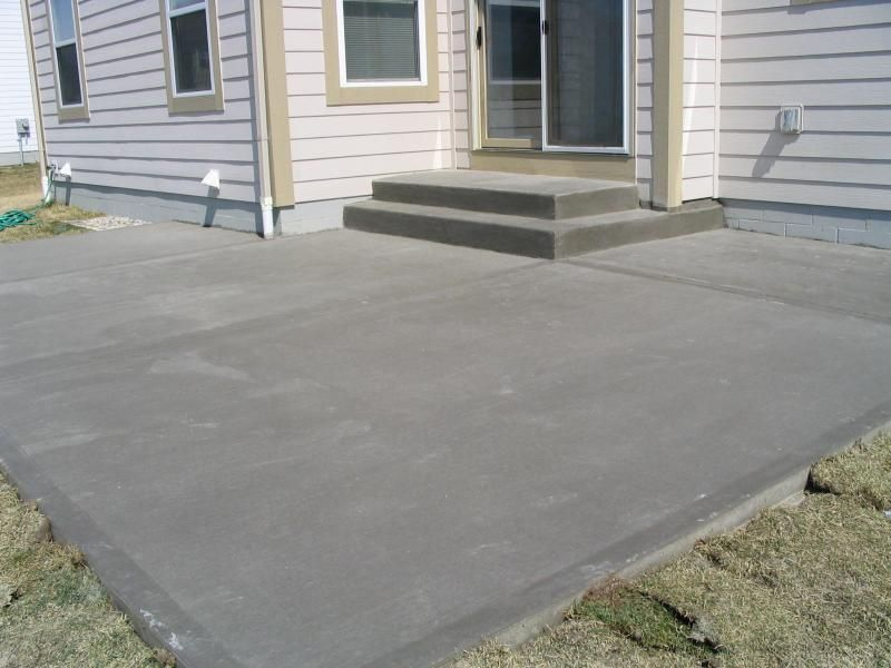 Cement Patio Finishes Atlantis Concrete And Construction Llc