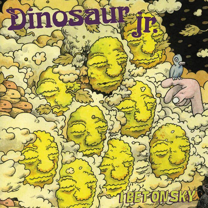 Juxtapoz Magazine Travis Millard For Dinosaur Jr S I Bet On Sky Album Cover Artwork Dinosaur Jr Cover Artwork Album Covers
