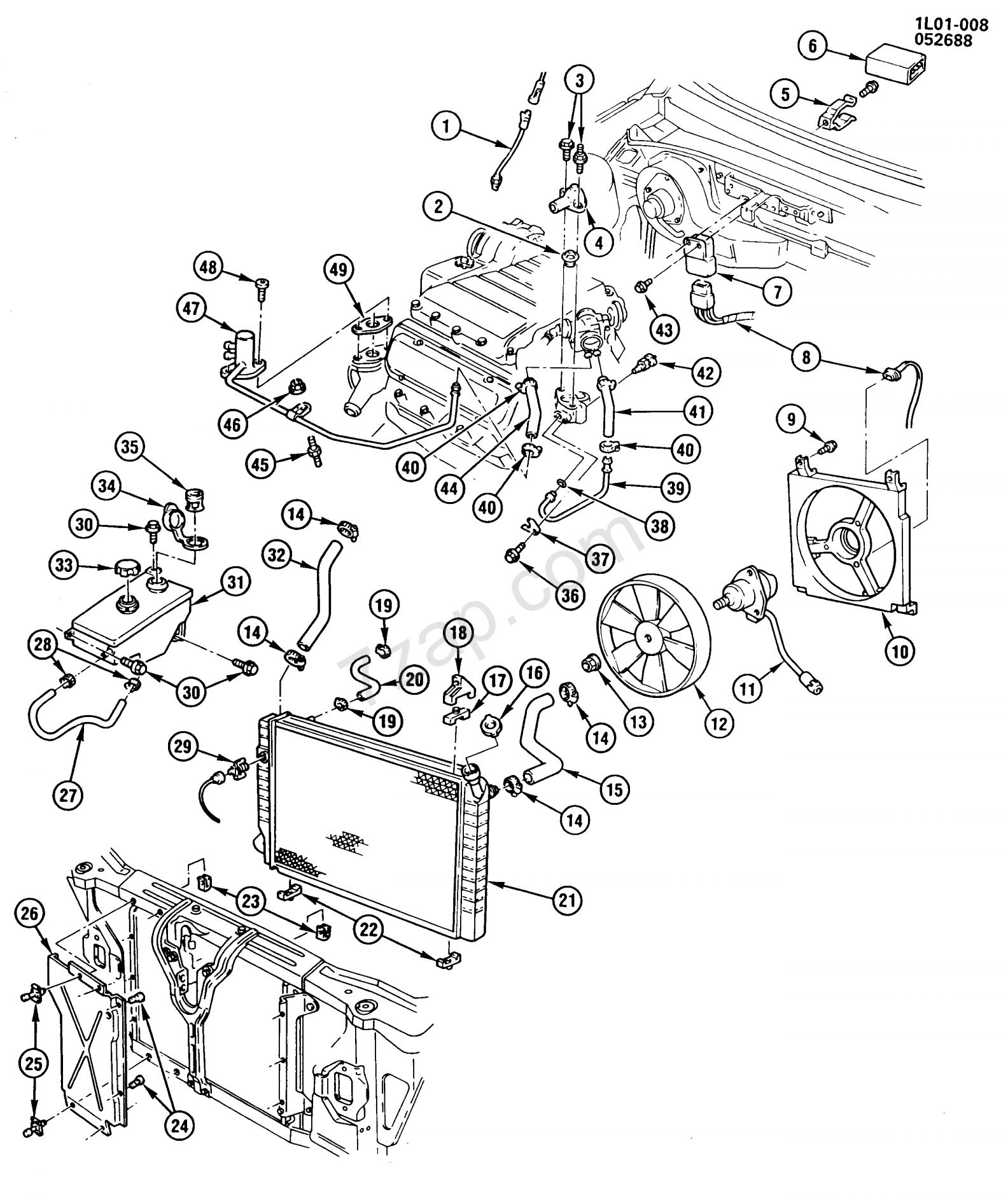 Chevy 305 Engine Wiring Diagram And Chevy L V Engine