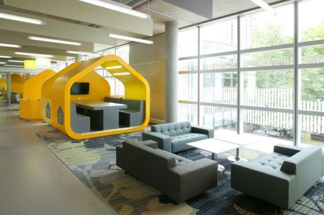 Call Center Interior Design