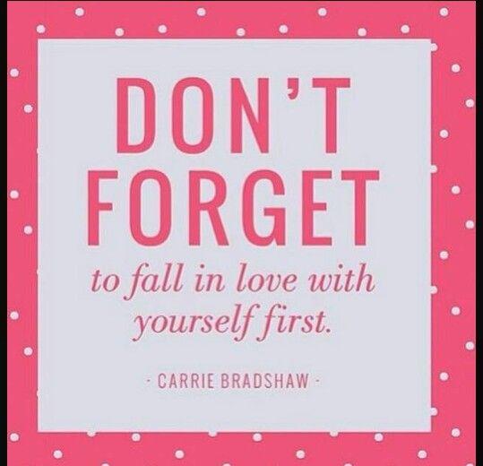 - Carrie Bradshaw