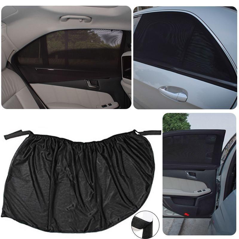 Mayitr 1 Pair Car Window Cover Universal Adjustable Car
