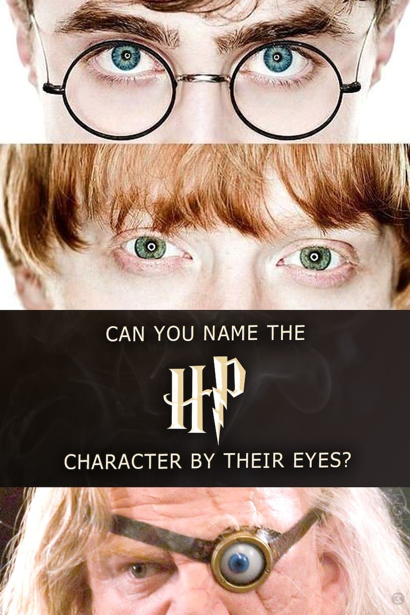 Quiz Can You Name The Harry Potter Character By Their Eyes Harry Potter Characters Harry Potter Quiz Harry Potter Personality