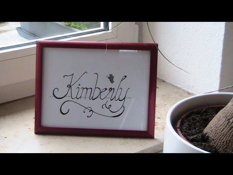 Cursive fancy letters i write your name example kimberly cursive fancy letters i write your name example kimberly youtube expocarfo Choice Image