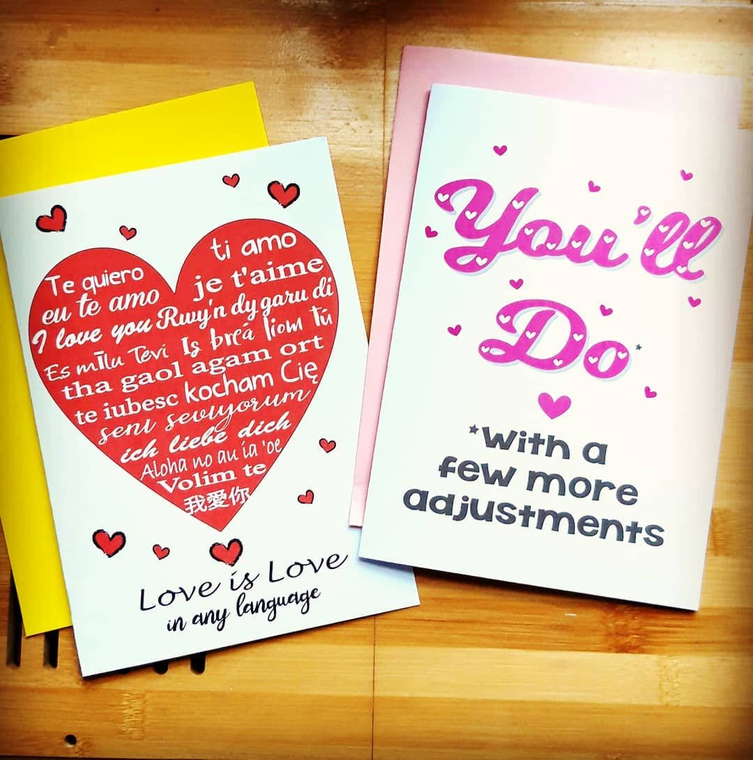 Valentines Cards By Khaos And Ink Valentines Card Design Valentines Cards Anniversary Cards