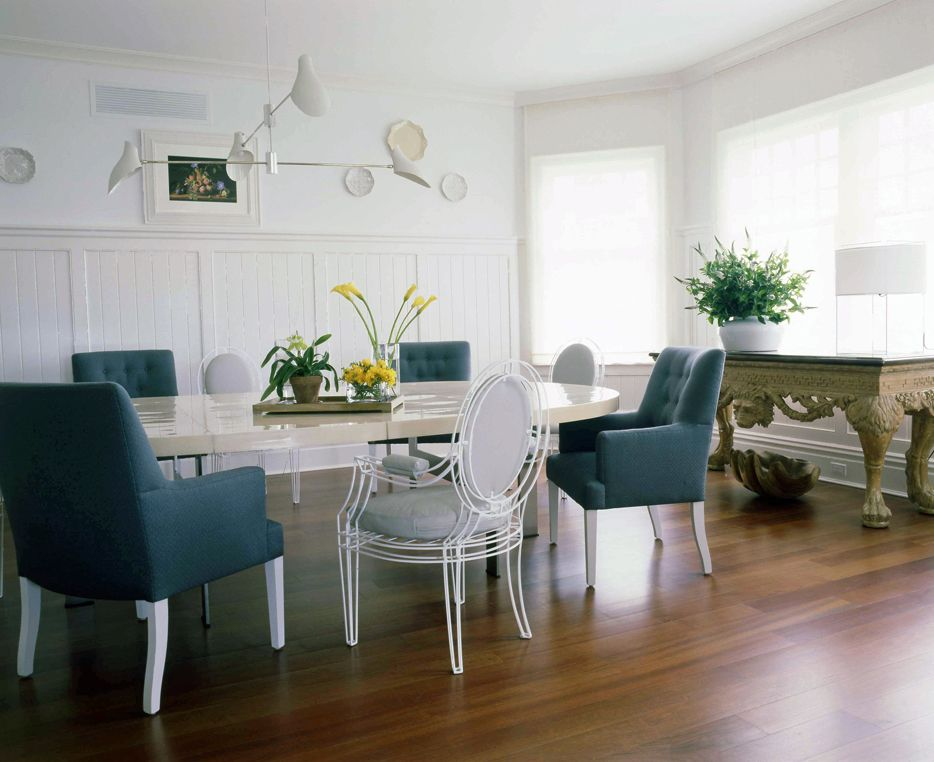 Bon Vincente Woolf: The Rules Of Mixing Dining Room Chairs