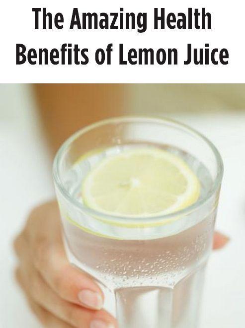The Amazing Health Benefits of Lemon Juice | eBay