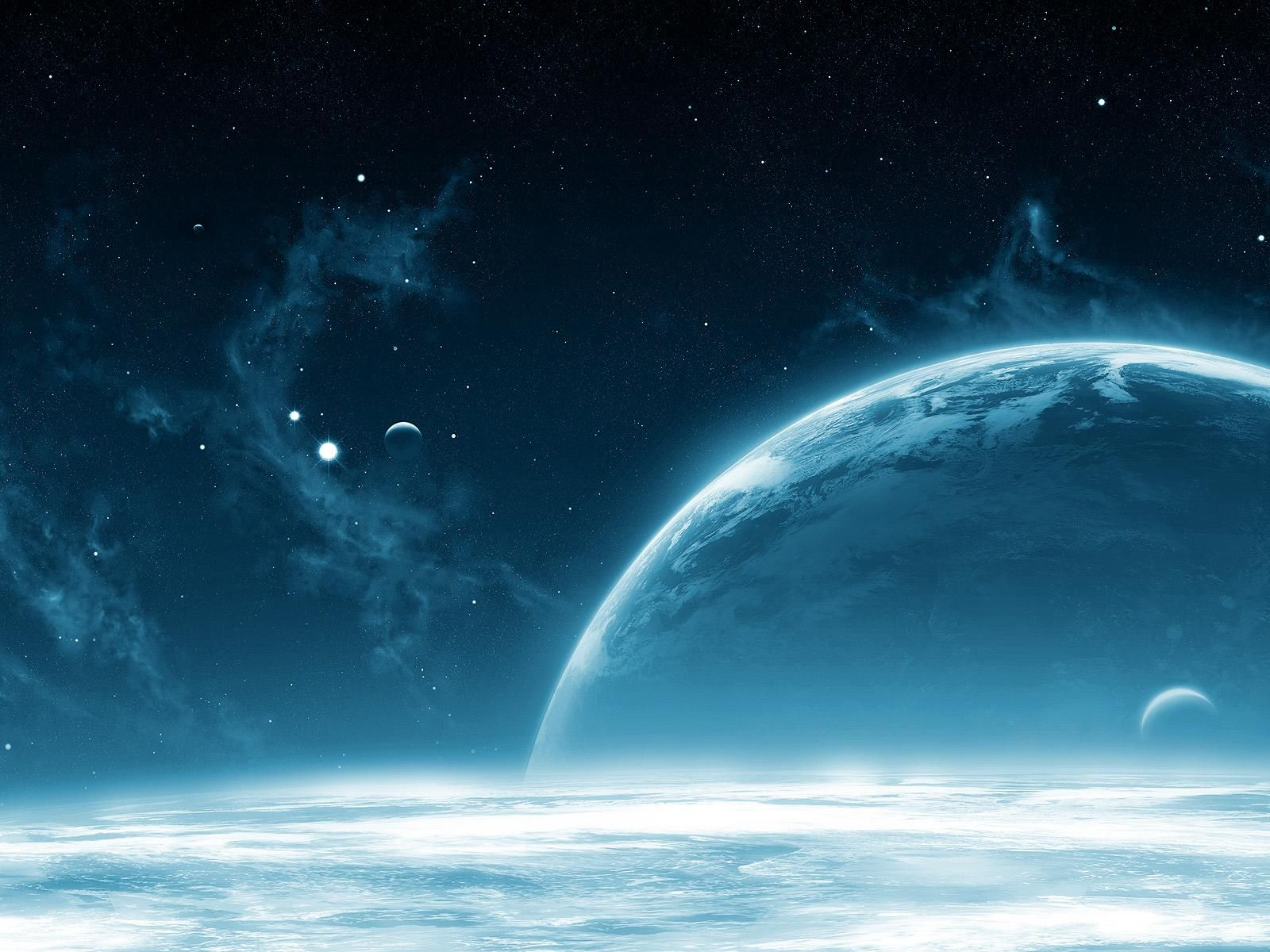 sci fi planet rise moons planets cosmos sci fi stars miscellaneous space wallpapers part