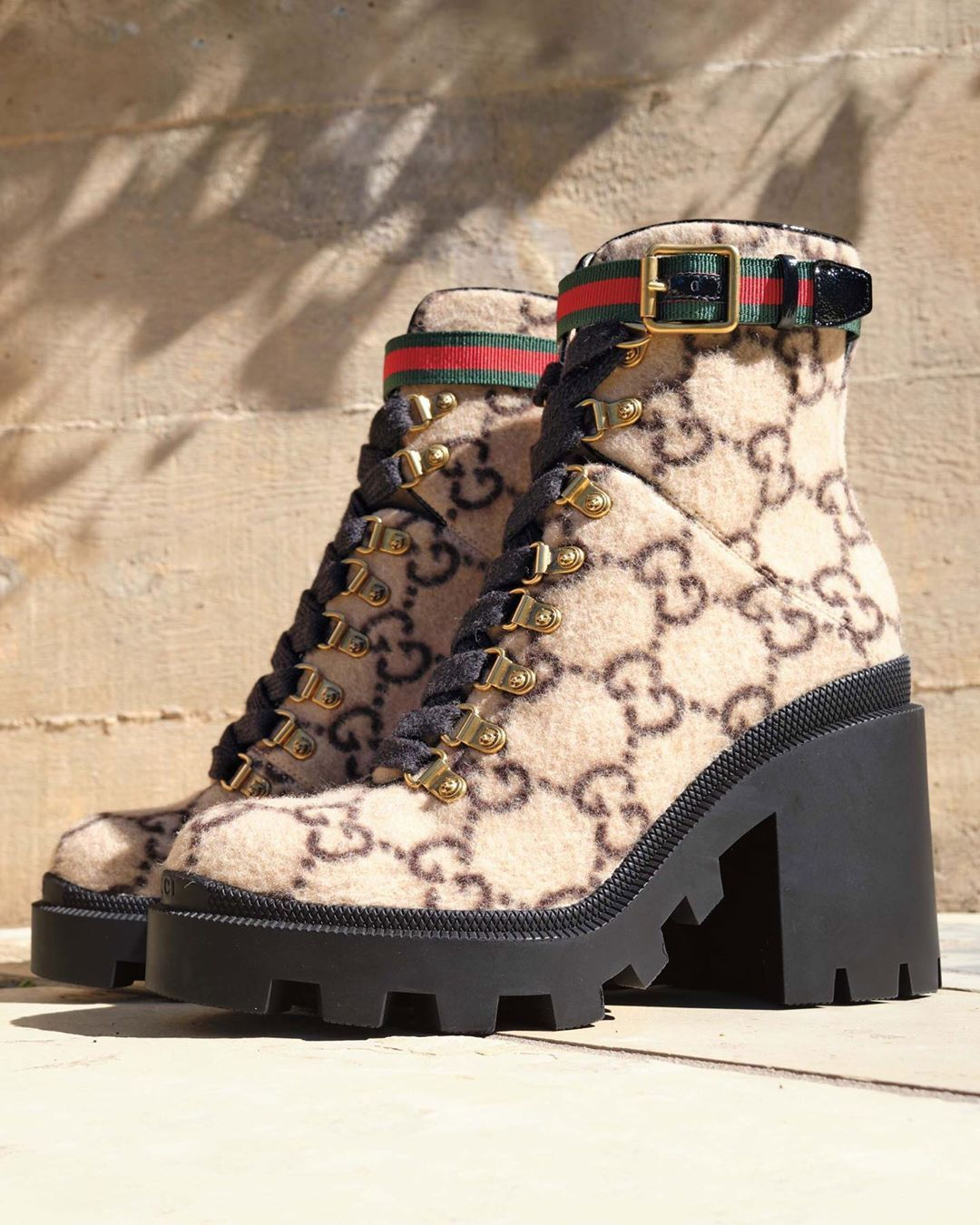 Lug sole boots, Gucci boots, Boots