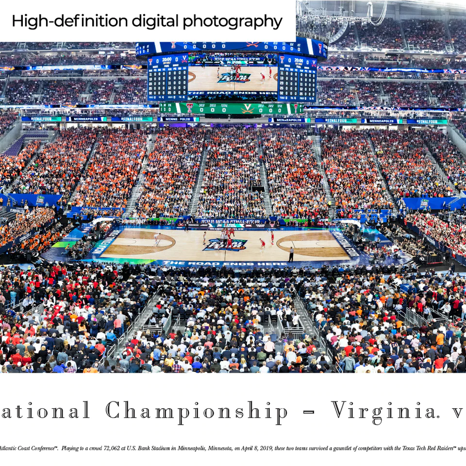 2019 NCAA® Final Four® Tipoff Basketball Panorama
