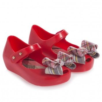 Girls Red Vivienne Westwood Jelly Shoes