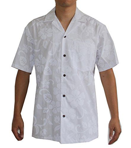 606426c1 Hawaiian Men's White Wedding Shirt, S Alohawears Clothing Company  http://www.