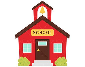 schoolhouse school house clip art free clipartfox drink up rh pinterest com house clipart free house clipart images black and white