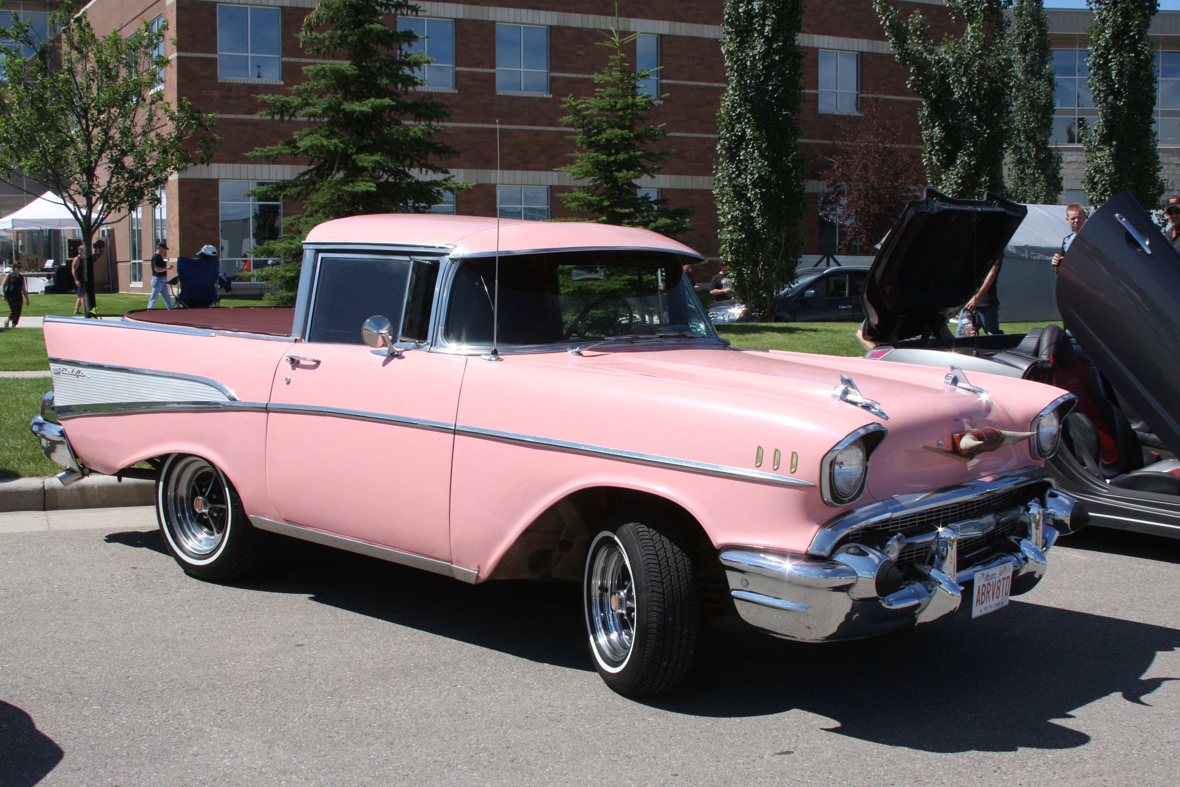 1957 chevrolet bel air converted to a truck