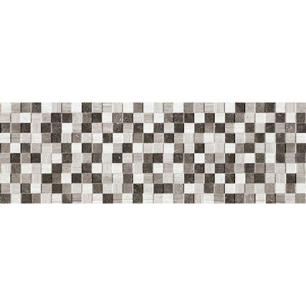 Discontinued Ragno Tile: #Ragno #Natural #Mosaico Grigio Nero 25x76 Cm R31C