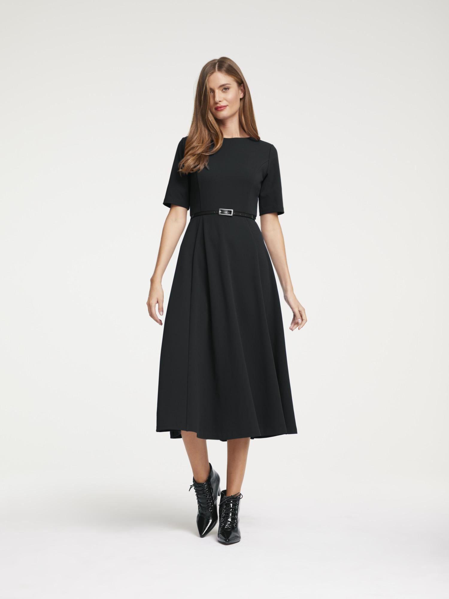 heine kleid damen schwarz größe 38   kleid arbeit, kleider