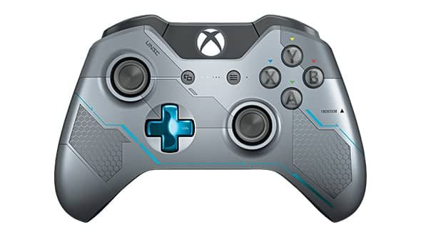 Xbox One Limited Edition Halo 5 Guardians Wireless Controller Top