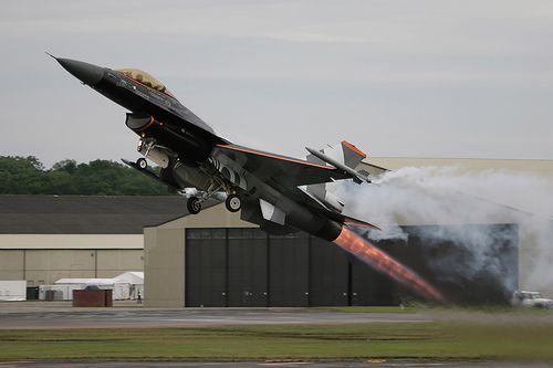 Inspiration - The General Dynamics F-16 Fighting Falcon is a