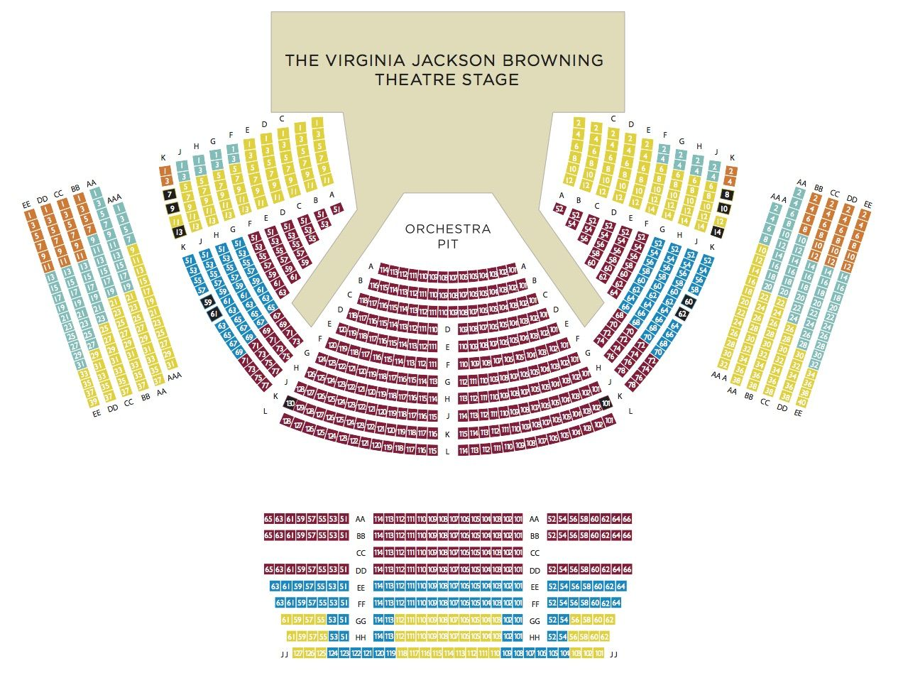 Pin By Ampy Moore On Otsl Seating Chart Theater Seating Seating Charts Theatre