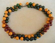 Vintage Stunning Bakelite Necklace $220