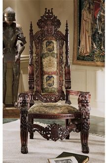 The Lord Raffles Lion Throne Chair