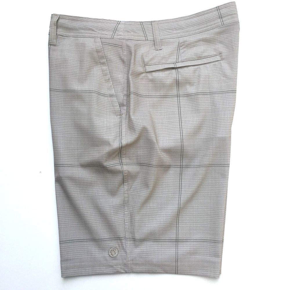 661c6988d4c7c Hang Ten Cruze Stretch Walking Skate Shorts Lightweight Quick Dry 40 Khaki  Beige #HangTen #WalkingSkate