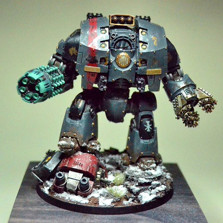 Ancient Jörmungrandr, The Void Demon. #hardforheresy #horusheresy #spacewolves #vlkafenryka #leviathan #warhammer30k #paintingforgeworld #paintingwarhammer #wh30k #dreadnought #warhammer #hobby