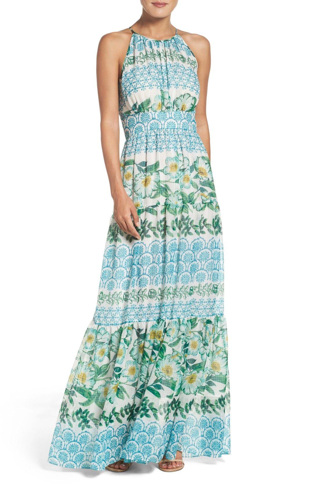 Halter Maxi Dress perfect beach wedding guest dress | Wedding Guest ...