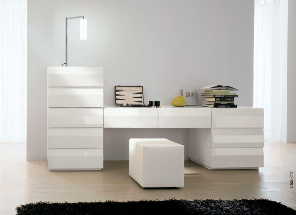ALF Lego Custom Dresser Notte 13 White Lacquer :: Modern ...