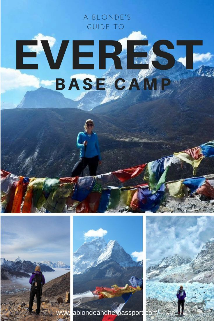 A blondes guide to everest base camp all the tips and