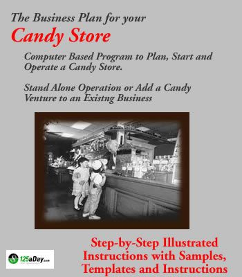 Candy Store Business Plan  All Things    Business