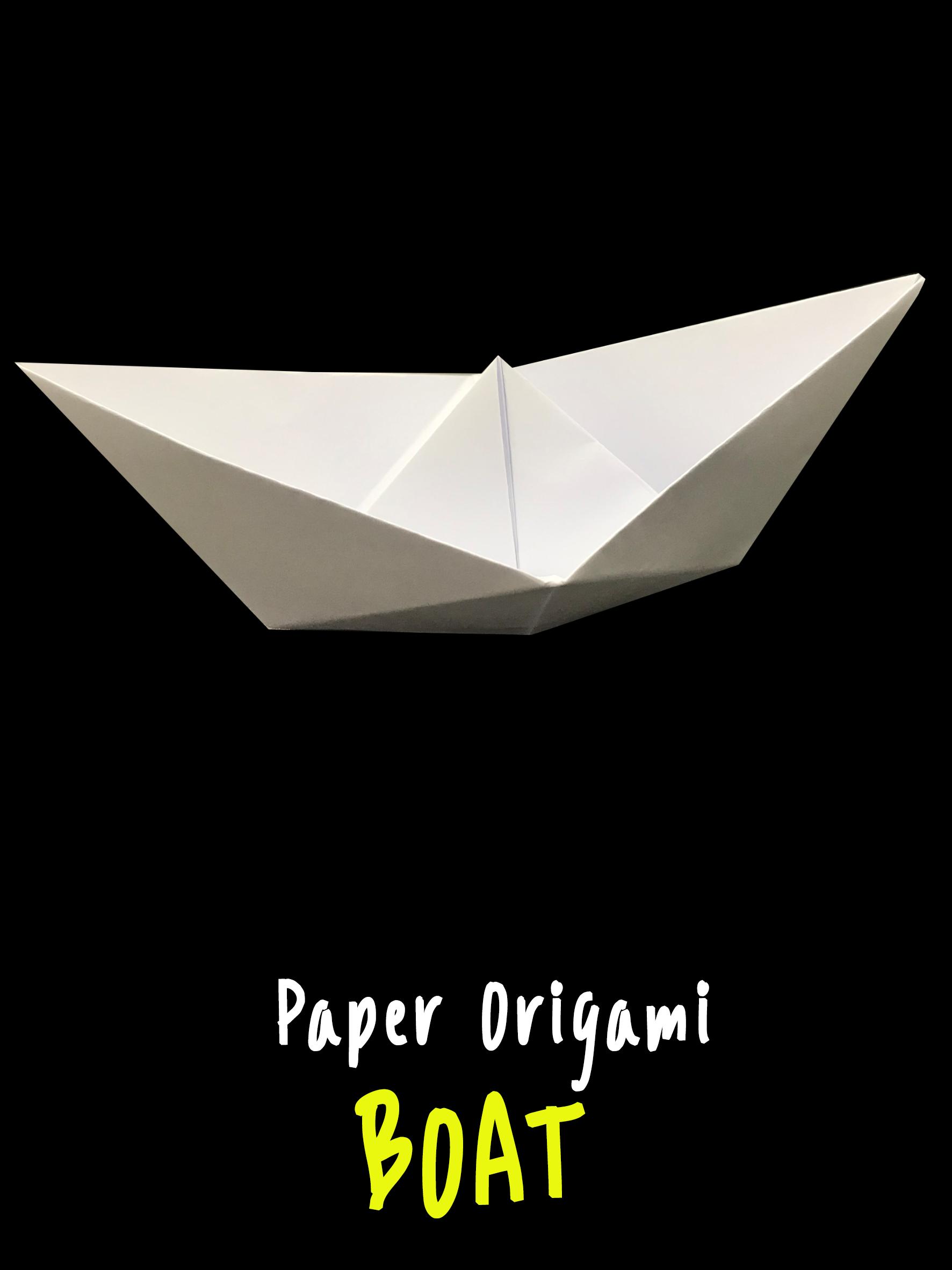 Paper Boat Tutorial