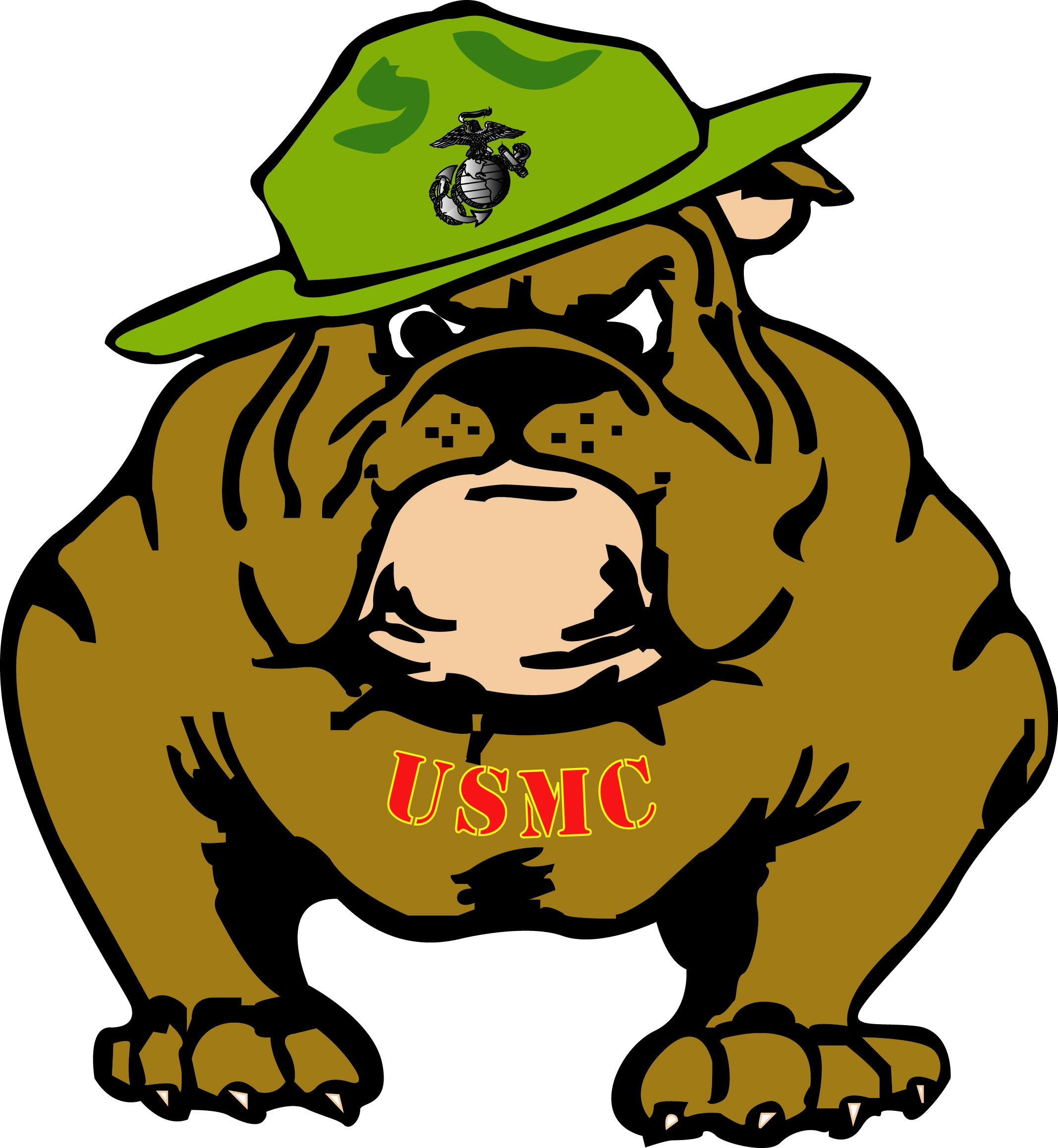 Image result for usmc bulldog clipart Bulldog clipart