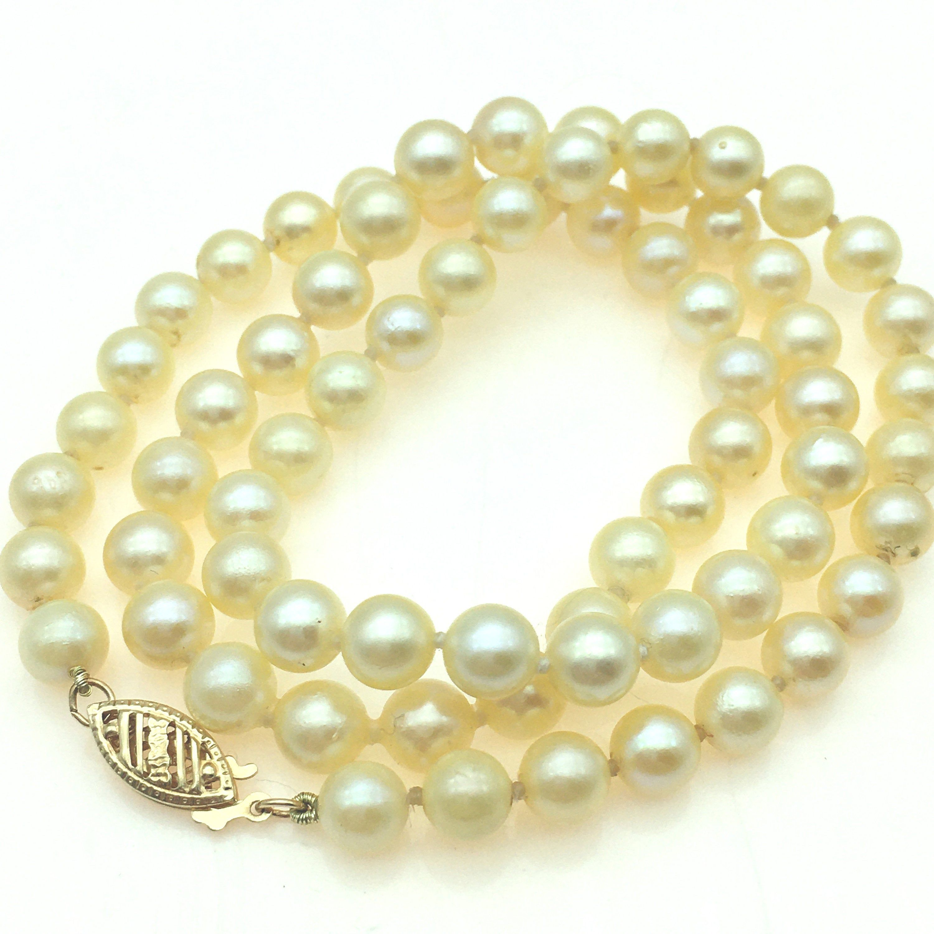 14k Gold Crown Necklace In 19/'/' Gold Chain Or Cord Single Pearl Necklace
